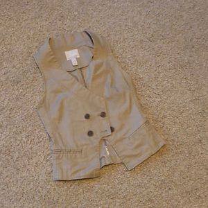Tan Banana Republic Vest